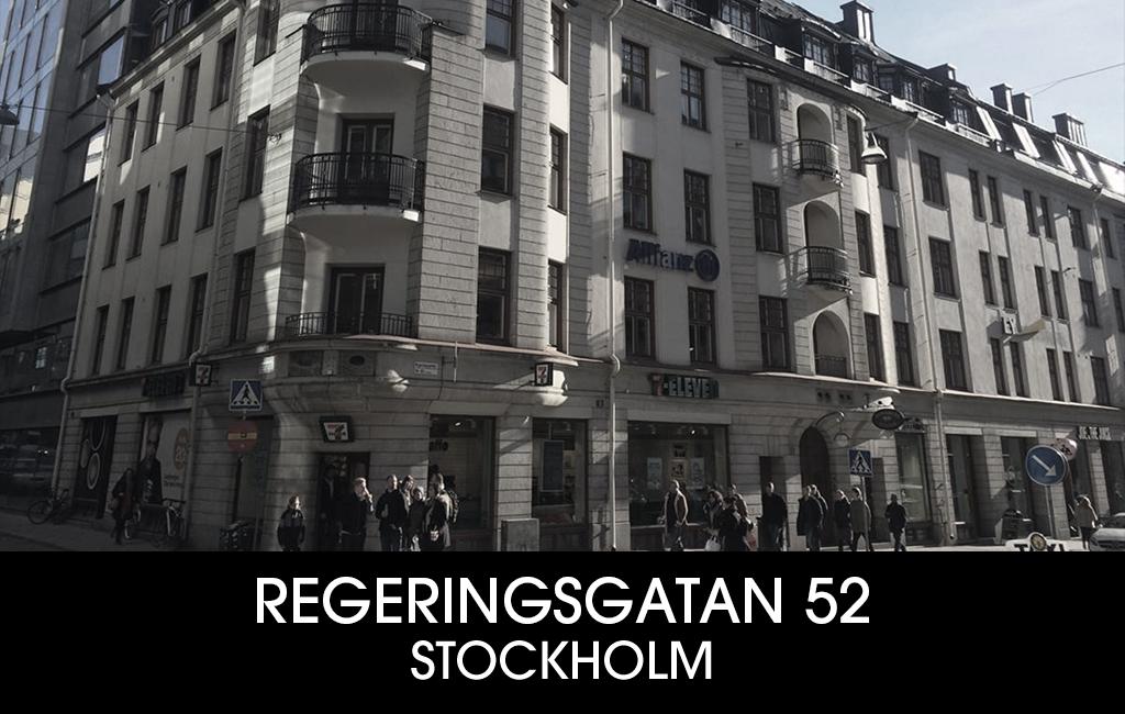 REGERINGSGATAN 52
