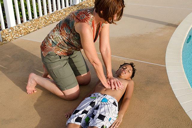 Livräddande första hjälpen till barn