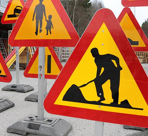 Arbete på väg Steg 1.1-1.3/Nivå 1-2 & 3B Webinar